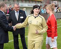 Finale Beker van West-Vlaanderen Dames : FC Menen United - KEG Gistel : Tiffany Ryckewaert <br /> foto VDB / BART VANDENBROUCKE