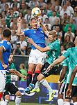 22.08.2019 Legia Warsaw v Rangers: Nikola Katic and Igor Lewczuk