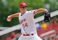 May 18, 2009: RHP Bryan Price of the Greenville Drive, Class A affiliate of the Boston Red Sox, in a game at Fluor Field at the West End in Greenville, S.C. Photo by: Tom Priddy/Four Seam Images