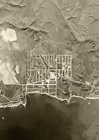 historical aerial photograph of Dana Point, Orange County, CA, 1946