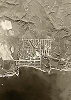 historical aerial photograph of Dana Point, Orange County, CA, 1946