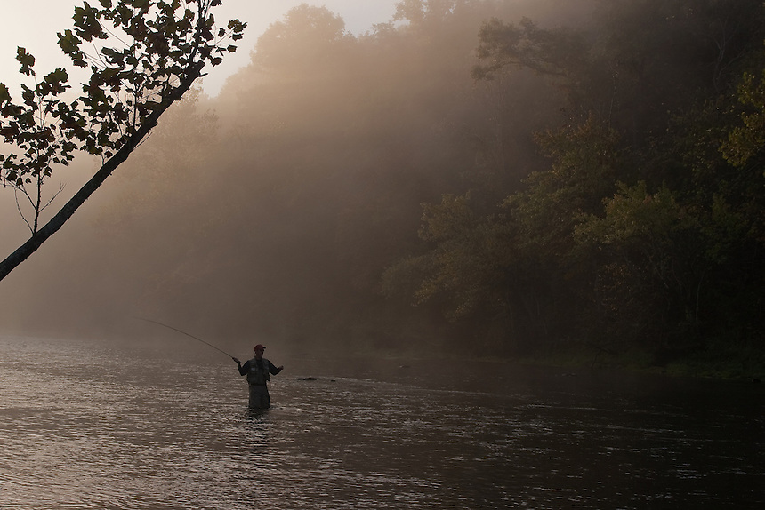 Published on Midcurrent.com<br /> <br /> Ted Calcaterra fishing the Norfork River in Arkansas.