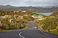 Paihia, New Zealand.  Residential Suburb.