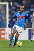 Nikola Maksimovic of SSC Napoli during the Europa League Group Stage F football match between SSC Napoli and Rijeka HNK at stadio San Paolo in Napoli (Italy), November 26th, 2020.<br /> Photo Cesare Purini / Insidefoto