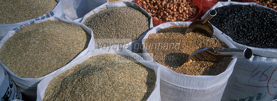 "Europe/Turquie/Istanbul : Bazar aux épices ""Misir Carsisi"" - Graines // Europe / Turkey / Istanbul: Spice Bazaar ""Misir Carsisi"" - Seeds"