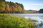 Fall foliage at Hopkinton Lake, Hopkinton, NH