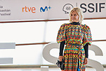 Eugenia Martinez de Irujo,attend the Photocall of 'Oso' during the 68th San Sebastian Donostia International Film Festival - Zinemaldia.September 25,2020.(ALTERPHOTOS/Yurena Paniagua)