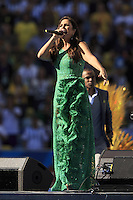Ivete Sangalo performs during the closing ceremony