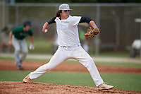 Jack Crowder (7) during the WWBA World Championship at the Roger Dean Complex on October 11, 2019 in Jupiter, Florida.  Jack Crowder attends Plainfield East High School in Romeoville, IL and is committed to Illinois.  (Mike Janes/Four Seam Images)