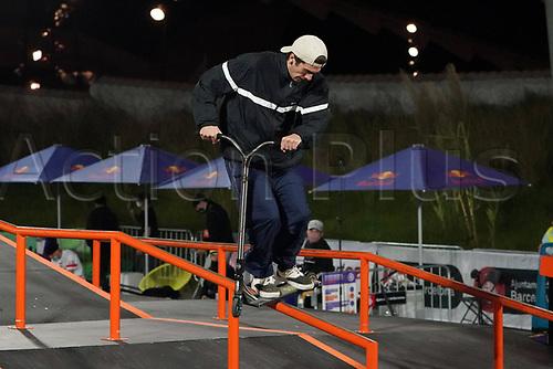 8th November 2020; Parc del Forum, Barcelona, Catalonia, Spain; Imagin Extreme Barcelona;  Luis Barrios (ESP) during Scooter mens street semifinal