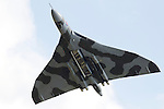 Pix: Shaun Flannery/shaunflanneryphotography.com...COPYRIGHT PICTURE>>SHAUN FLANNERY>01302-570814>>07778315553>>..2nd July 2011....................RAF Waddington International Airshow..Vulcan XH558 performs.