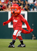 Fred the Red. Manchester United defeated Philadelphia Union, 1-0.