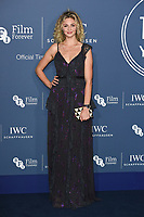 Tamsin Eggerton<br /> arriving for the 2018 IWC Schaffhausen Gala Dinner in Honour of the BFI at the Electric Light Station, London<br /> <br /> ©Ash Knotek  D3437  09/10/2018