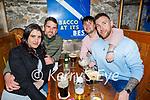 Enjoying the evening in Killarney on Saturday, l to r: Dania Casem, Mark Greene (Killarney), Richard Brosnan (Killarney) and Greg Bodham.