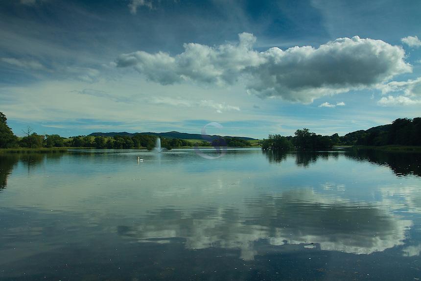 Carlingwark Loch, Castle Douglas, Galloway