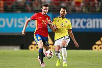 Spain's Saul Niguez (l) and Colombia's Abel Aguilar during international friendly match. June 7,2017.(ALTERPHOTOS/Acero) (NortePhoto.com) (NortePhoto.com)