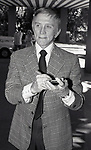 Kirk Douglas attends A.T.A.S. at the Beverly Hills Hotel on February 1, 1982 in Beverly Hills, California.
