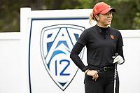 STANFORD, CA - APRIL 25: Malia Nam at Stanford Golf Course on April 25, 2021 in Stanford, California.