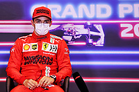 5th June 2021;  F1 Grand Prix of Azerbaijan Pole sitter 16 Charles Leclerc MON, Scuderia Ferrari Mission Winnow, F1 Grand Prix of Azerbaijan at Baku City Circuit