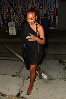 Justine Skye Has a Night Out At Craigs