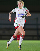 Tine Schrijvers (23 OHL) in action during a female soccer game between Oud Heverlee Leuven and Standard Femina De Liege on the 10th matchday of the 2020 - 2021 season of Belgian Womens Super League , sunday 20 th of December 2020  in Heverlee , Belgium . PHOTO SPORTPIX.BE | SPP | SEVIL OKTEM