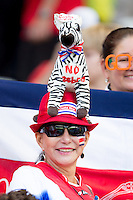 Costa Rica fan with a Zebra hat