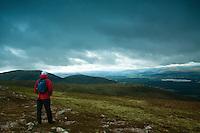Creag Follias from Creag Dhubh, Cairngorm National Park, Badenoch and Speyside