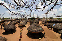 UGANDA, Kitgum, IDP camp, Internal displaced People from war between LRA Lords resistance army and Uganda army