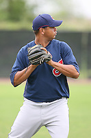 March 20th 2008:  Jose Jimenez of the Cleveland Indians minor league system during Spring Training at Chain of Lakes Training Complex in Winter Haven, FL.  Photo by:  Mike Janes/Four Seam Images