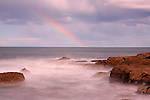 Rainbow over Soldiers Beach, NSW