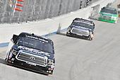 #51: Harrison Burton, Kyle Busch Motorsports, Toyota Tundra DEX Imaging, #18: Noah Gragson, Kyle Busch Motorsports, Toyota Tundra Safelite