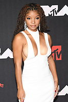 NEW YORK, NY- SEPTEMBER 12: Halle Bailey at the 2021 MTV Video Music Awards at Barclays Center on September 12, 2021 in Brooklyn,  New York City. <br /> CAP/MPI/JP<br /> ©JP/MPI/Capital Pictures
