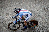 Jozef Cerny (CZE/Deceuninck-Quick Step)<br /> <br /> 88th UCI Road World Championships 2021 – ITT (WC)<br /> Men's Elite Time trial from Knokke-Heist to Brugge (43.3km)<br /> <br /> ©Kramon