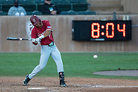 STANFORD, CA - JUNE 6: Adam Crampton during a game between UC Irvine and Stanford Baseball at Sunken Diamond on June 6, 2021 in Stanford, California.