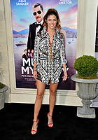 """LOS ANGELES, USA. June 11, 2019: Stephanie Cayo at the premiere of """"Murder Mystery"""" at Regency Village Theatre, Westwood.<br /> Picture: Paul Smith/Featureflash"""