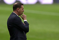 Footbal Soccer: FIFA World Cup Qatar 2022 Qualification, Italy - Northern Ireland, Ennio Tardini stadium, Parma, March 26, 2021.<br /> Northern Ireland's coach Ian Baraclough looks on during the FIFA World Cup Qatar 2022 qualification, football match between Italy and Northern Ireland, at Ennio Tardini stadium in Parma on March 26, 2021.<br /> UPDATE IMAGES PRESS/Isabella Bonotto