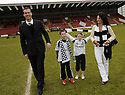 24/05/2009  Copyright  Pic : James Stewart.sct_jspa_11_airdrie_v-Ayr.AYR UTD MANAGER BRIAN REID CELEBRATES AT THE END OF THE GAME WITH HIS FAMILY.James Stewart Photography 19 Carronlea Drive, Falkirk. FK2 8DN      Vat Reg No. 607 6932 25.Telephone      : +44 (0)1324 570291 .Mobile              : +44 (0)7721 416997.E-mail  :  jim@jspa.co.uk.If you require further information then contact Jim Stewart on any of the numbers above.........