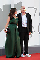 VENICE, ITALY - SEPTEMBER 11: Director Eric Gravel and Laure Calamy attend the closing ceremony red carpet during the 78th Venice International Film Festival on September 11, 2021 in Venice, Italy. <br /> CAP/MPI/AF<br /> ©AF/MPI/Capital Pictures