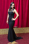 © Licensed to London News Pictures . 16/05/2015 .  The Palace Hotel , Manchester , UK . Nadine Mulkerrin . The red carpet at the 2015 British Soap Awards , The Palace Hotel , Oxford Road , Manchester . Photo credit : Joel Goodman/LNP