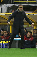 Swansea manager Carlos Carvalhal moves on the touch line during the Emirates FA Cup match between Wolverhampton Wanderers and Swansea City at The Molineux Stadium, Wolverhampton, England, UK. Saturday 06 January 2018
