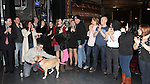 Merwin Foard & Company attending the Broadway Opening Night Performance  Gypsy Robe Ceremony celebrating Merwin Foard recipient  for 'Annie' at the Palace Theatre in New York City on 11/08/2012