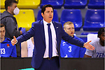 EUROLEAGUE 2020-2021. Playoffs.Game 1.<br /> FC Barcelona vs Zenit St. Petersburg: 74-76.<br /> Xavi Pascual.