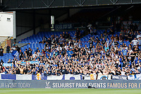 Hertha Berlin BSC fans in full voice during the pre season friendly match between Crystal Palace and Hertha BSC at Selhurst Park, London, England on 3 August 2019. Photo by Carlton Myrie / PRiME Media Images.
