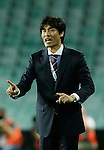 SYDNEY - APRIL 05:  Pohang Steelers head coach Choi Jin-cheul gives instructions during the AFC Champions League group H match between Sydney FC and Pohang Steelers on 05 April 2016 held at Sydney Football Stadium in Sydney, Australia. Photo by Mark Metcalfe / Power Sport Images *** Local Caption *** Choi Jin-cheul