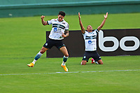 16th November 2020; Couto Pereira Stadium, Curitiba, Brazil; Brazilian Serie A, Coritiba versus Bahia; Giovanne Augusto of Coritiba celebrates his goal in the 3th minute 1-0