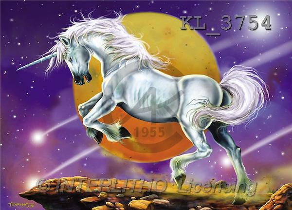Interlitho, Lorenzo, FANTASY, paintings, unicorn, univers, KL, KL3754,#fantasy# illustrations, pinturas