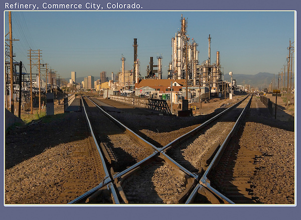 I suggest turning around occasionally to check for trains. <br />