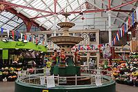 Viktorianische Markthalle Central Markez in  St.Helier, Insel Jersey, Kanalinseln