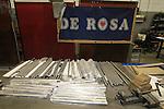 Titanium tubes De Rosa factory, Cusano Milanino, Italy. 30th September 2015.<br /> Picture: Eoin Clarke   Newsfile