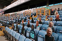 Seats occupied by fans pictures during Millwall vs Blackburn Rovers, Sky Bet EFL Championship Football at The Den on 14th July 2020